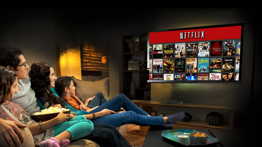 Netflix en direct sur la TV