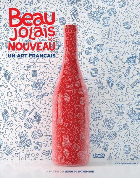 Affiche du Beaujolais Nouveau 2014