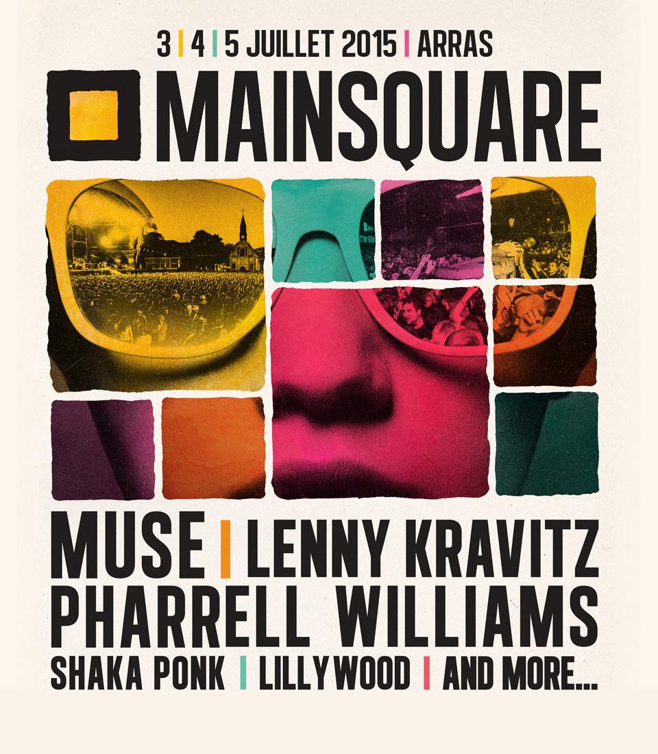 Affiche du Main Square Festival 2015